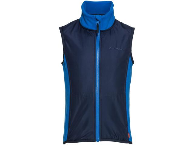 VAUDE Racoon Fleece Vest Kinder blue